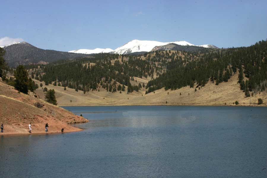 Colorado fishing lakes for Tarryall reservoir fishing